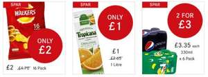 1 Litre Tropicana Orange Juice £1 @ Spar