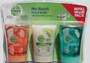 3 x Dettol no touch hand wash refill @ £6 in Costco