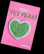 Free recipe book @ Yes Peas