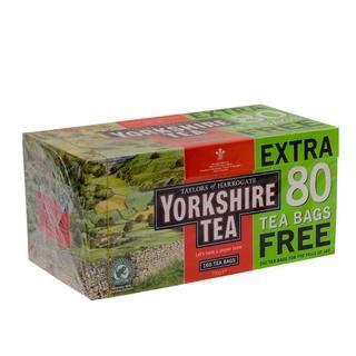 YORKSHIRE TEA 160+80 BAGS FREE £2.99 @ B&M RETAIL
