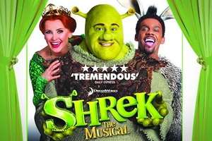 Shrek The Musical: Top Price Ticket for £32.50 (50% Off) @ Groupon
