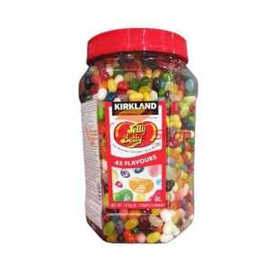 Jelly Belly Beans 45 Flavours 1.81 Kilo £15.23 @ costco