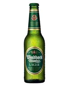 4 pack of Windhoek Lager £2.44 in store at tesco