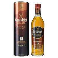 Glenfiddich 15 year old  Malt whisky only £28@asda online
