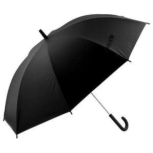 Winter is here - Black Large Umbrella @ Poundland for £1