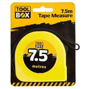 7.5 M Measuring Tape £1 poundland