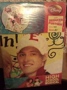 High School Musical, Disney's: Duvet cover + pillowcase, Single size  £1 @ Jysk instore(probably)