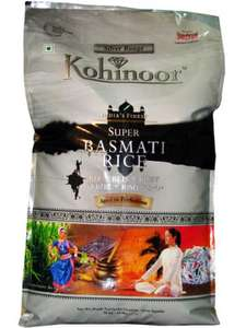 Kohinoor Silver Range India's Finest Super Basmati Rice (10kg) - £8 @ ASDA
