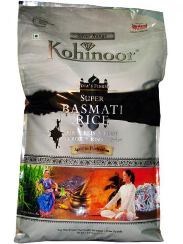 Kohinoor Silver Range India's Finest Super Basmati Rice (10kg) - £8 @ ASDA