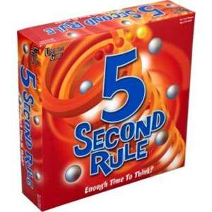 5 Second Rule Game Half Price @ Argos £9.97