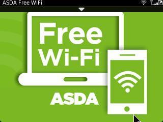 Free Wifi Now Available @ Asda