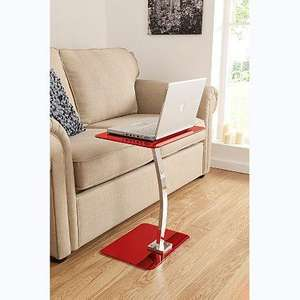 ASDA laptop table black, red or white £15.00 online collect at store.