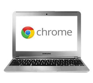 SAMSUNG Series 3 WiFi Chromebook  instore @ PC World / Currys- Silver  £209 using o2 moments £20 off