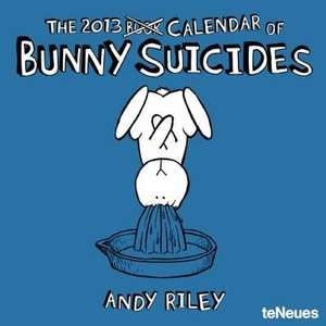 2013 Bunny Suicides Grid Calendar £4.99 free delivery or collect in store Waterstones