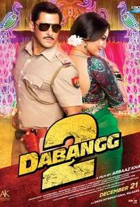 Dabangg 2 booking £8.50 @ Cineworld