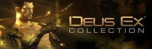 Deus Ex Collection @ Steam Flash Sale (Deus Ex: Game of the Year Edition, Deus Ex 2 Invisible War, Deus Ex: Human Revolution with all DLC £7.49