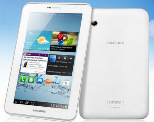 Samsung Galaxy Tab 2 Dual Core 8GB Wi-Fi 7'' White Tablet £199.99 - £30 cashback = £169.99 at Sainsburys