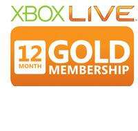 12 month xbox live membership at blockbuster
