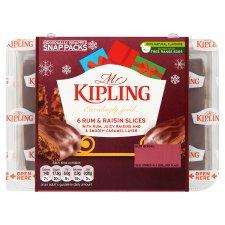 Mr Kipling Rum & Raisin Slices 6 pack for 60p instore at Heron Foods stores