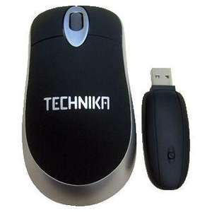 TECHNIKA H16BC1 DESKTOP WIRELESS OPTICAL MOUSE 800DPI, REFURBISHED WITH A 12 MONTH TESCO OUTLET WARRANTY, £4.46 Delivered @ Tesco ebay outlet