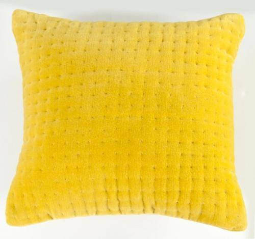 ASDA Sulphur Velvet Cushion for £3.00 @ ASDA Direct were £7.00 each