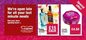 Bombay Saphire Gin only £15 for 2 days only at the Co-operative Food Instore only.