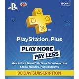 90 Day Playstation Plus Membership 250 Cokezone Points