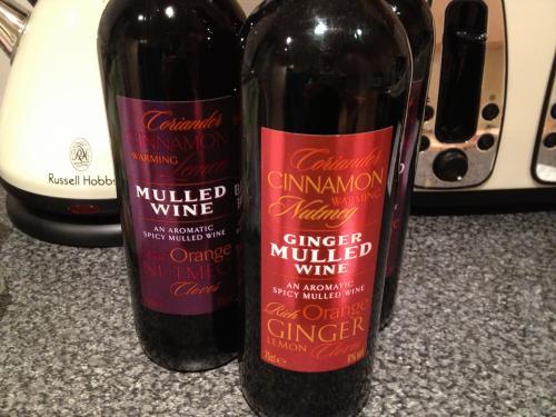 Mulled Wine Ginger or Nutmeg £1 instore Boldon ASDA was £2.48