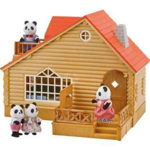 Sylvanian Families Log Cabin half price now £22.49 del to store @ Boots