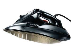 AMAZON Philips Azur GC4890/02 Steam Iron with Anodilium Technology Soleplate, 2600 Watt, Black