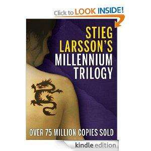 ALL THREE of The Millennium Trilogy: The Girl with the Dragon Tattoo, The Girl Who Played with Fire & The Girl Who Kicked the Hornets' Nest (3-in-one) for Kindle @ Amazon £2.29