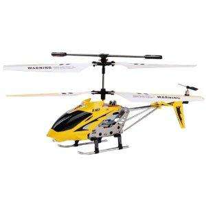 Syma S107 3 Channel Infrared Controlled Helicopter with Gyroscopic Stability Control - Yellow £14.99 @ Amazon