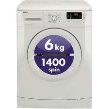 Beko WMB61431W Washing Machine 1400 RPM Spin (White) £149 Save £100 (£139 for New Customers) @ Tesco Direct