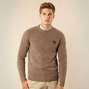 Debenhams Fred Perry Lambswool Jumper Reduced from £100 to £60