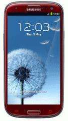 Samsung Galaxy S3 (RED) , 300 minutes, 5000 text, unlimited data - three network (handset price £49.99) from OneStopPhoneShop.co.uk @ 18.00 per month