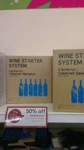 Wine starter kit at Wilkinsons
