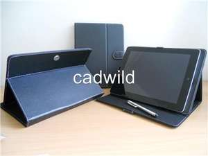 Archos 80 colbalt leather case. typing mode and TV stand mode with free stylus only £11.95 @ ebay ./ catwild
