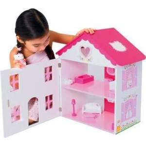 Hello Kitty Wooden Dolls House, £23.99 R&C @ Argos