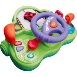 Chad Valley Toy Steering Wheel, £6.99 R&C @ Argos