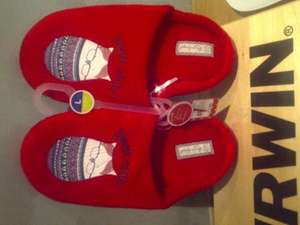 Primark have loads of ladies slippers from £1 (see pic) Minnie mouse £3 slipper boots £3