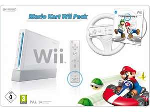 Nintendo Wii Console: Mario Kart Bundle for £75.00 @ Morrisons