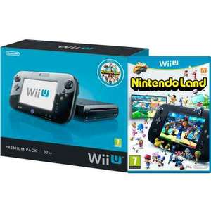Wii U Console: 32GB Nintendo Land Premium Pack - Black - New £224.99 @ Zavvi ebay