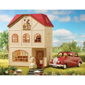 Sylvanian Family Cedar Terrace Gift Set now £49.99 @ smyths