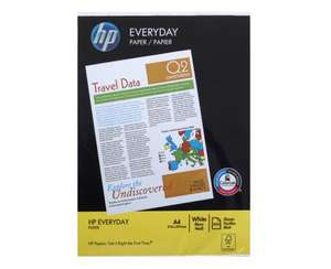 HP Everyday Printer Paper 75 GSM 500 Sheets £2.49 @ SAINSBURY'S POOLE