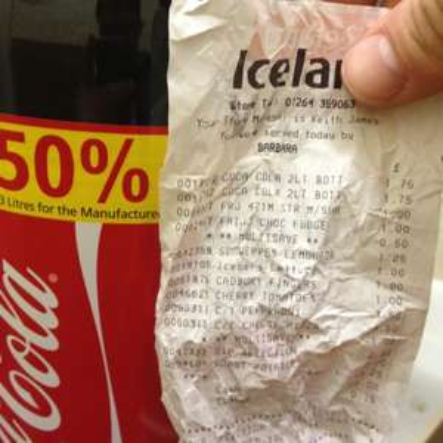3 litre coca cola at iceland £1.75 schweppes lemonade 3 litre £1.25 @ Iceland