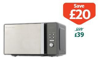 Russell Hobbs 20L Black Digital Microwave £39 @ Morrisons