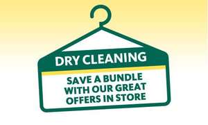 Any 5 Shirts Washed & Ironed £5 (More Offers In Post) @ Morrisons Dry Cleaning