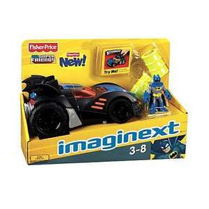 Batman Imaginext Motorised Batmobile - £11.70 delivered with 10% off code @ Debenhams