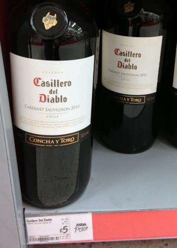 Casillero del Diablo Cabernet Sauvignon 2011 magnum @ Asda