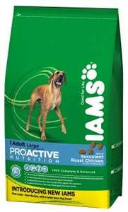IAMS Adult Large Breed Chicken Dry Dog Food 1 kg (Pack of 4) £7.32 with Free Delivery supplied by Amazon Save £7.02